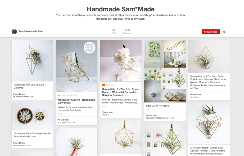 Handmade Sam*Made | Anna Crowe