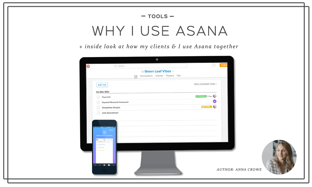 Why I Use Asana at Hello Anna & Co.