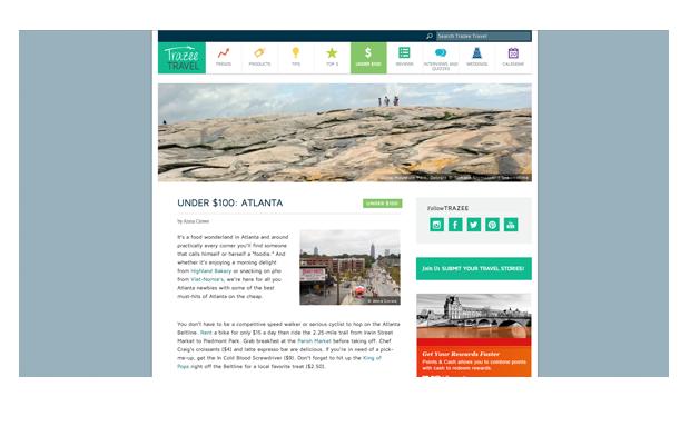 Trazee Travel - Blog 1 - Freelance Copywriting