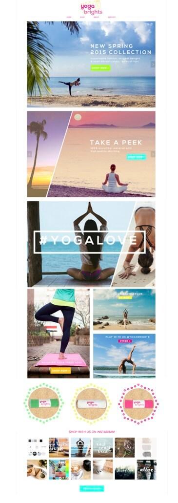 YogaBrights Website Design