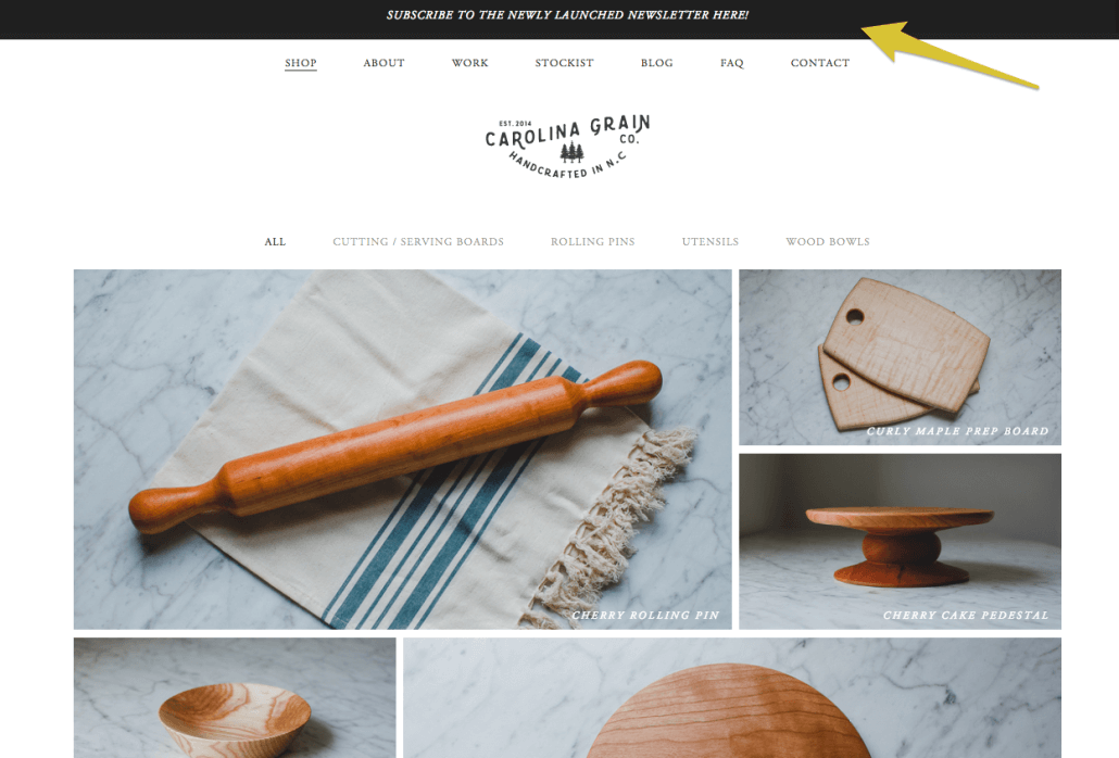 Carolina Grain Co. Newsletter | Anna Crowe